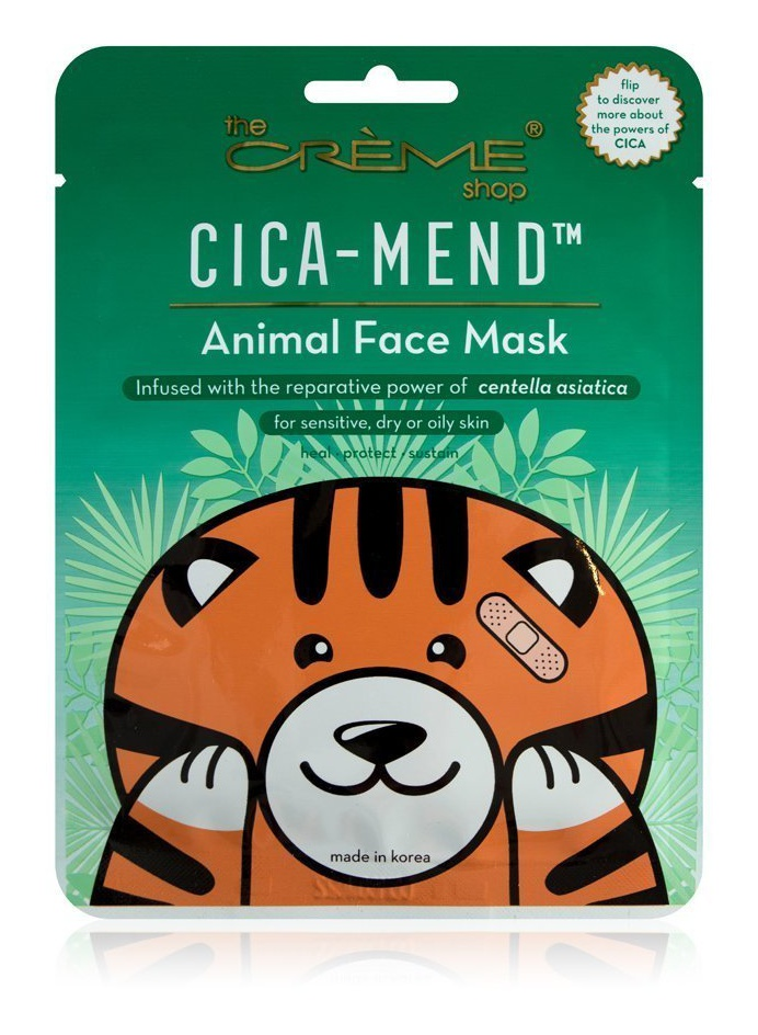 The Creme Shop Cica-Mend™ - Animated Tiger Face Mask
