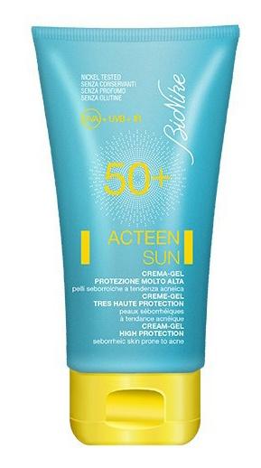 Bionike AKNET ACTEEN SUN Cream-gel SPF 50+