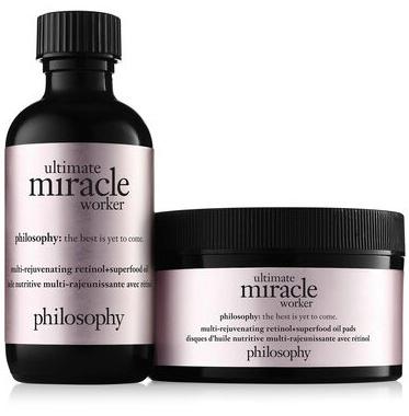 Philosophy Ultimate Miracle Worker Retinol+Superfood Oil Pads