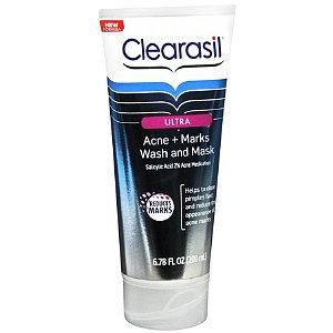 Clearasil Ultra Acne + Marks Wash And Mask