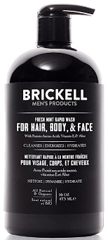 Brickell Men's Products All In One Wash For Men