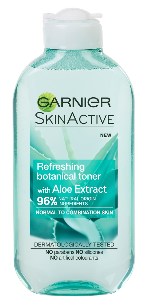 Garnier SkinActive Refreshing Botanical Toner With Aloe Extract for Normal To Combination Skin