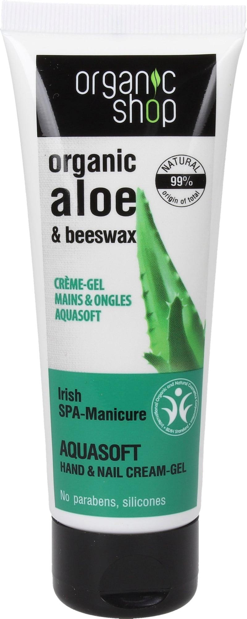 Organic Shop Aquasoft Hand & Nail Cream Oil
