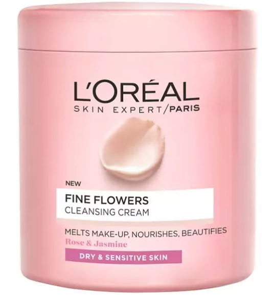 L'Oreal Fine Flowers Cleansing Cream