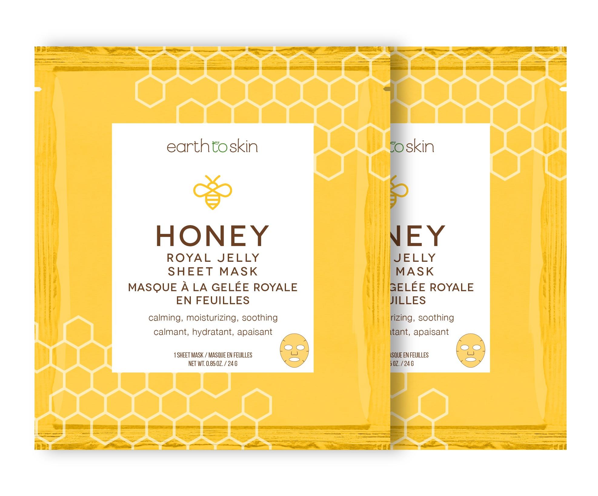 Earth To Skin Honey Royal Jelly Sheet Mask