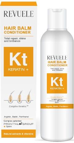 Revuele Keratin+ Restoration, Shine And Gloss Hair Conditioning Balsam