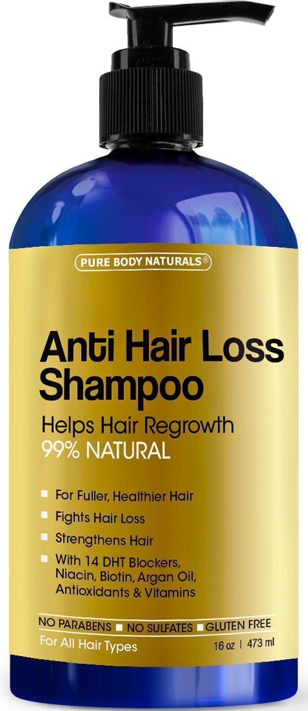 Pure Body Naturals Hair Loss Shampoo