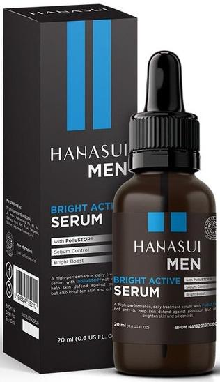 Hanasui Men, Bright Active Serum