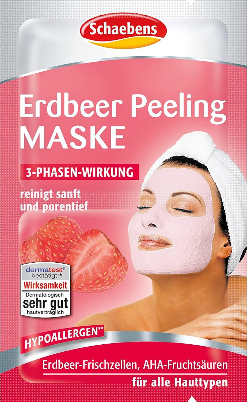 Schaebens Erdbeer Peeling Mask