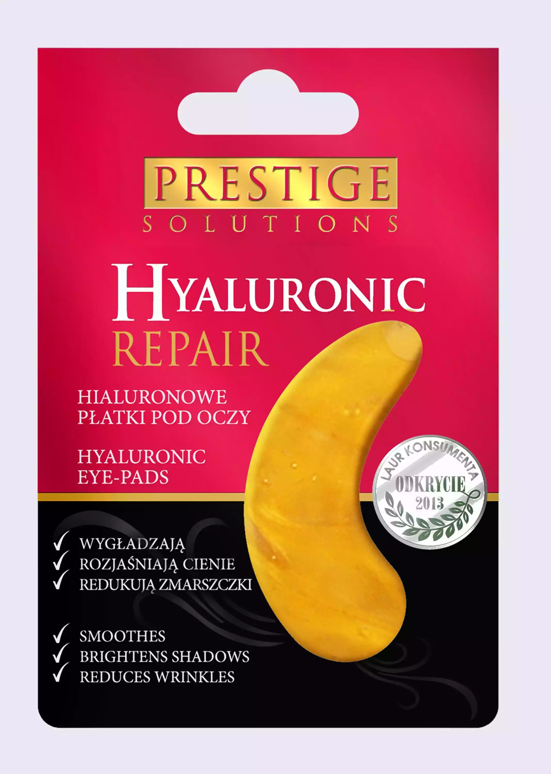 Prestige Solutions Hyaluronic Repair Eye Pads