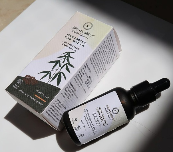 juicy chemistry Hemp seed oil