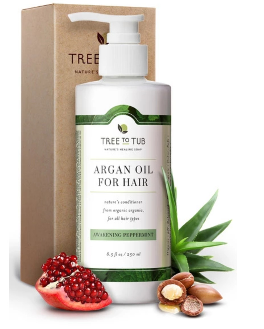 Tree to Tub Argan Oil Condition Awakening Peppermint