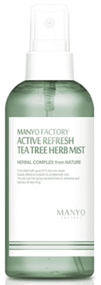 Manyo Factory Active Refresh Tea Tree Herb Mist