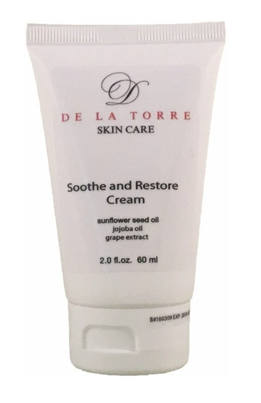 De La Torre Soothe And Restore Cream