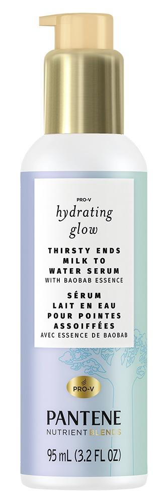 Pantene Hydrating Glow Milk To Water Hair Serum