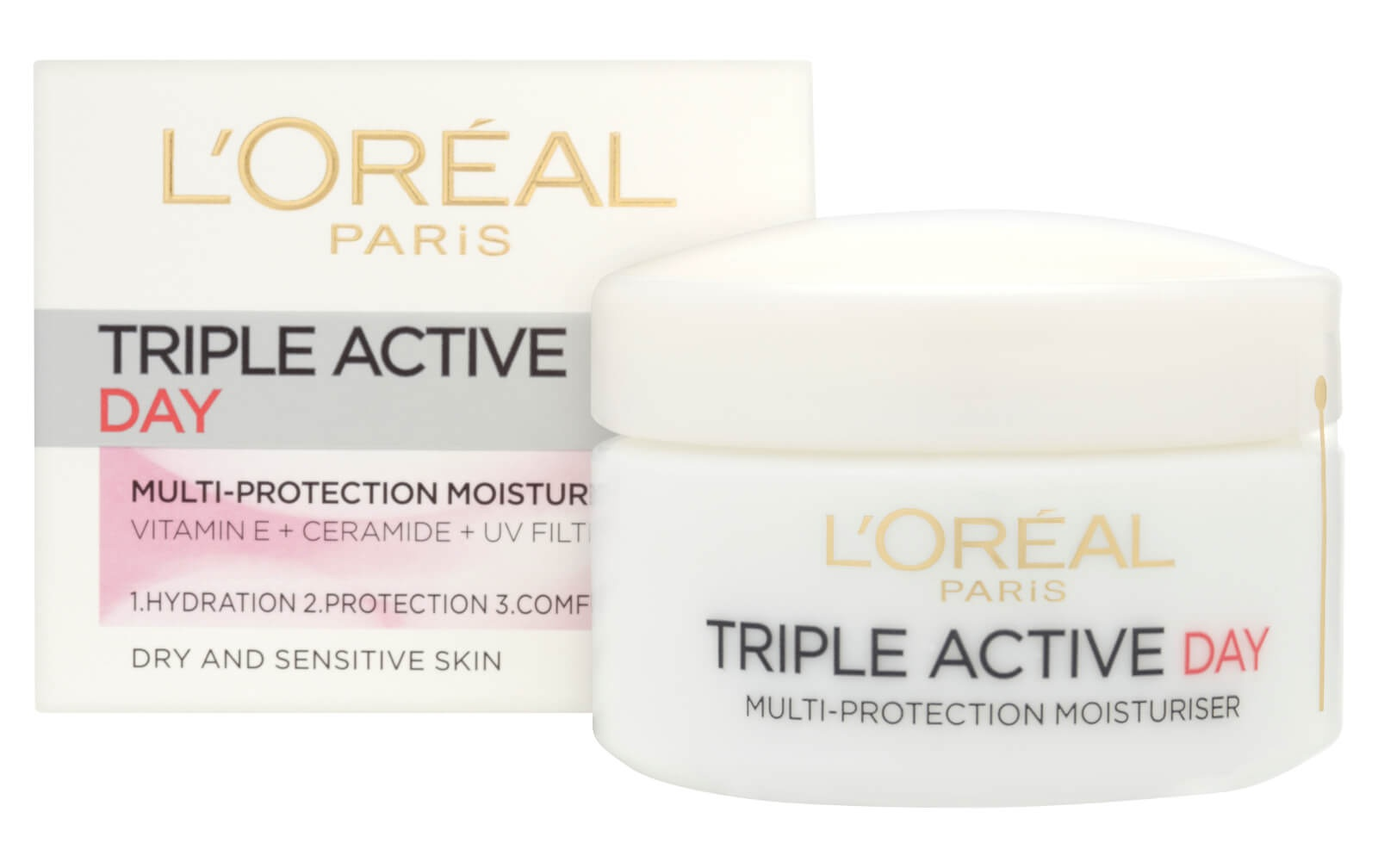 L'Oreal Paris Dermo Expertise Triple Active Day Multi-Protection Moisturiser