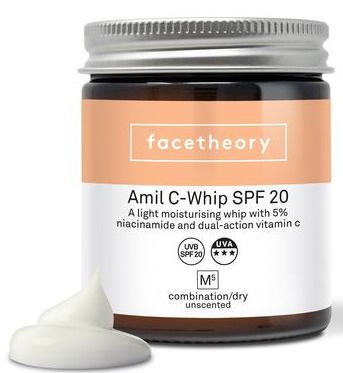 facetheory Amil C Whip M5  5% Niacinamide Spf20