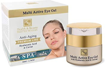 Health & Beauty Dead Sea Minerals Multi Active Eye Gel Enriched With Hyaluronic Acid And Caviar Extract