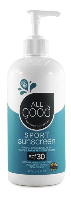 All Good Sport Zinc Sunscreen – Spf 30