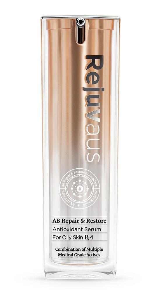RejuvAus Ab Repair & Restore Antioxidant Serum For Oily Skin Rx4
