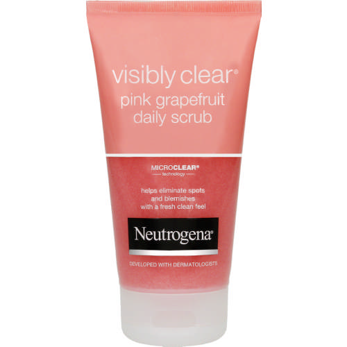 Neutrogena Visibly Clear Daily Scrub Pink Grapefruit