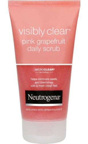Neutrogena Visibly Clear Daily Scrub Pink Grapefruit