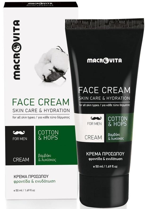 Macrovita Face Cream Cotton & Hops
