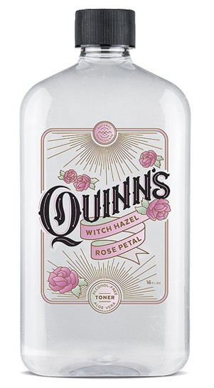 Quinns Rose Water Witch Hazel Toner