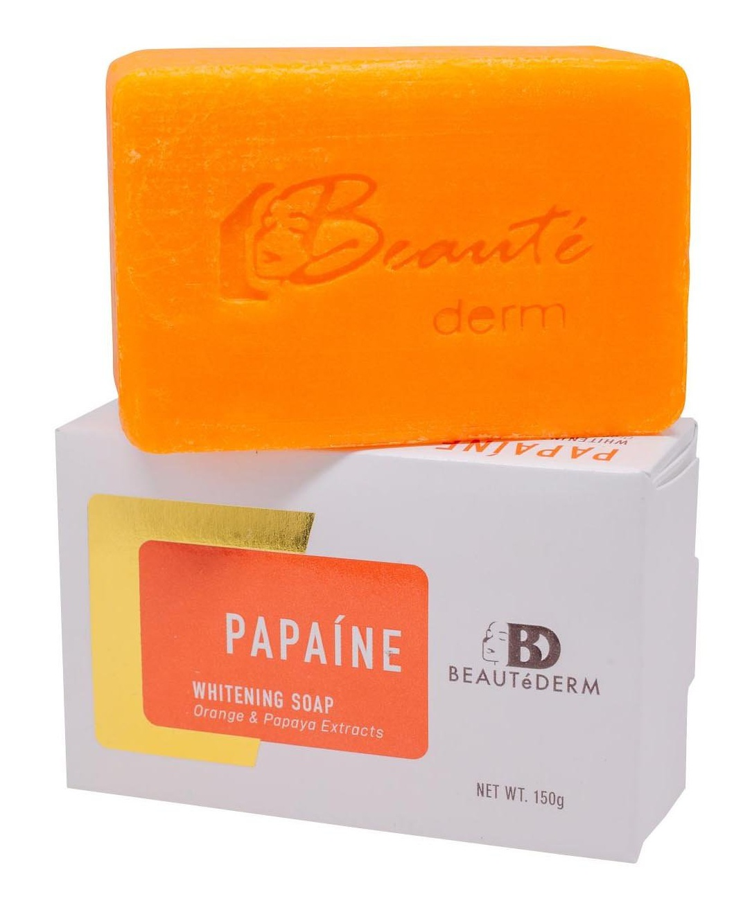 Beautederm Papaine Whitening Soap