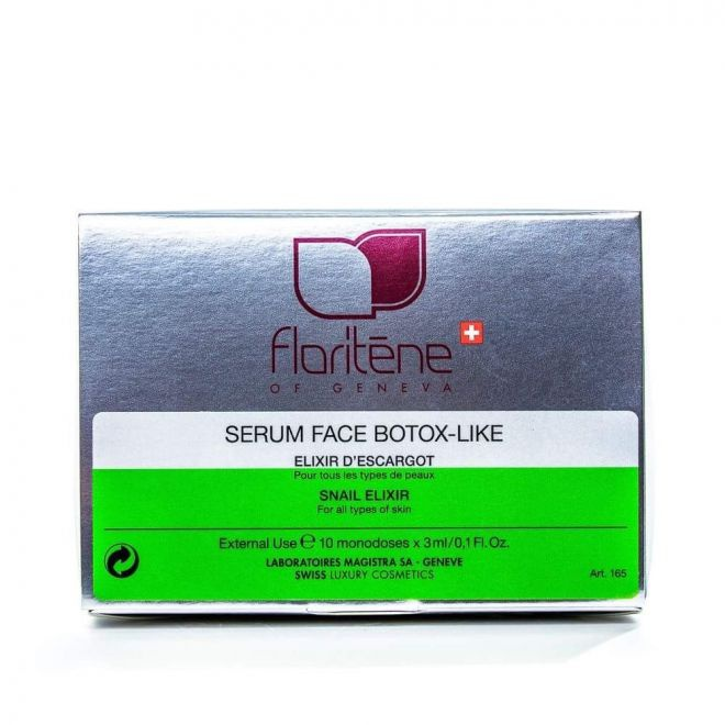 Floritene Serum face botox like elixir d`escargot
