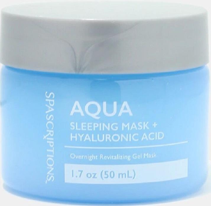 Spascriptions Aqua Sleeping Mask + Hyaluronic Acid