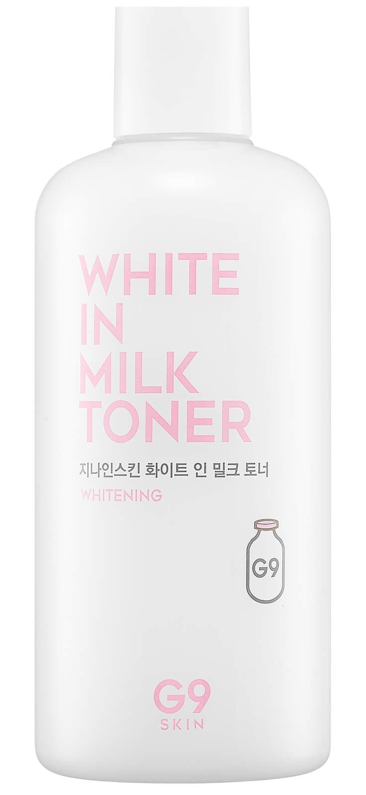 G9SKIN White in Milk Toner