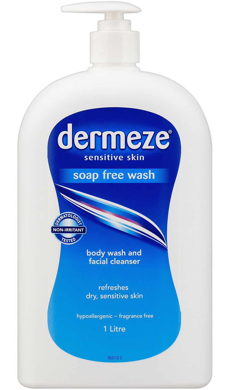 Dermeze Sensitive Skin Soap Free Wash