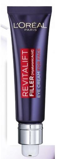 L'Oreal Paris Revitalift Filler Hyaluronic Acid Eye Cream For Face