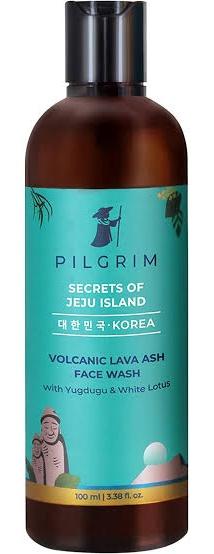 Pilgrim Volcanic Lava Ash Face Wash With Yugdugu & White Lotus