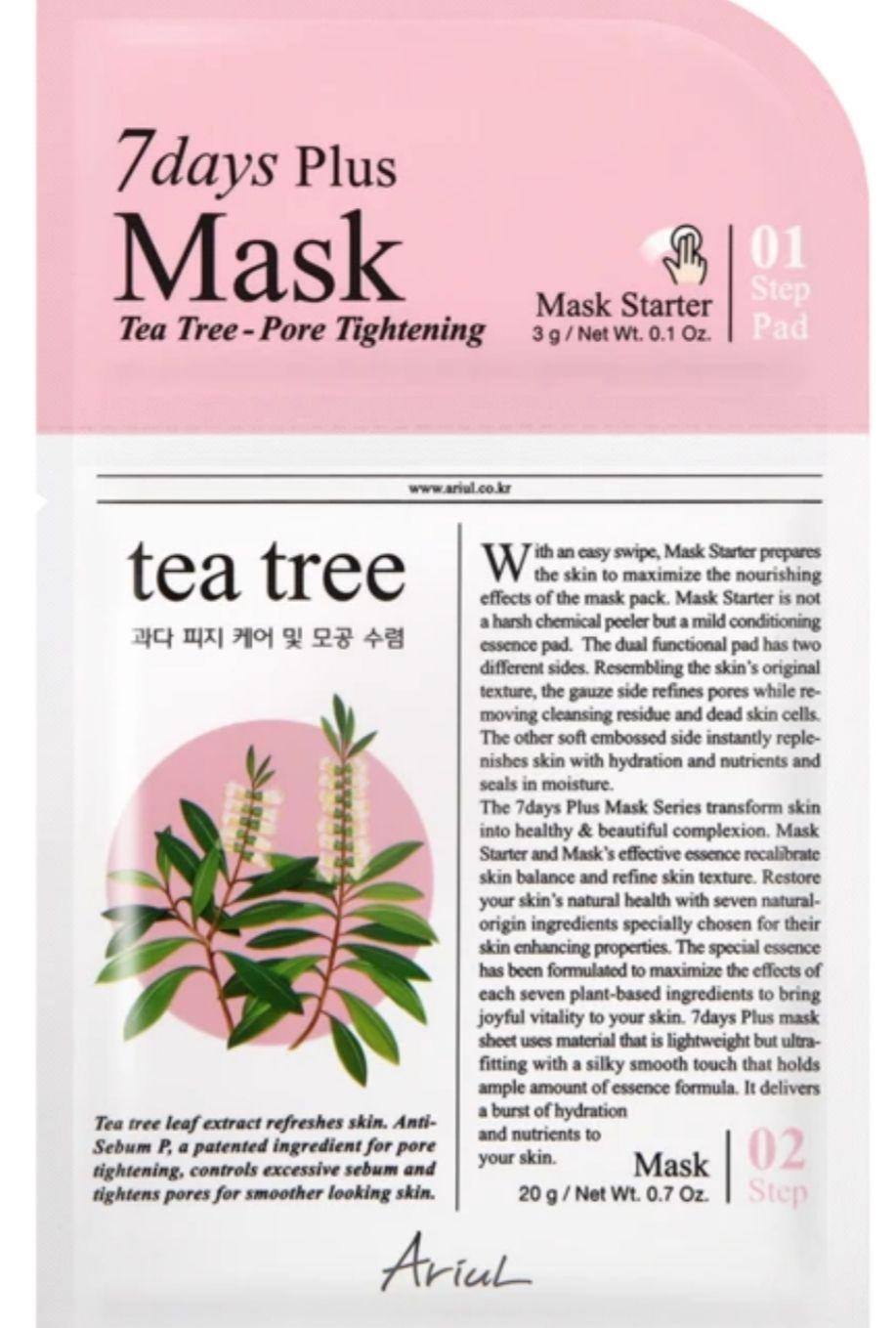 Ariul 7Days Plus Mask Tea-Tree Pore Tightening