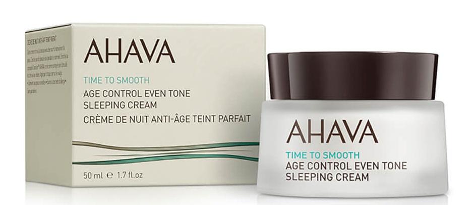 Ahava Time To Smooth Age Control Even Tone Sleeping Cream