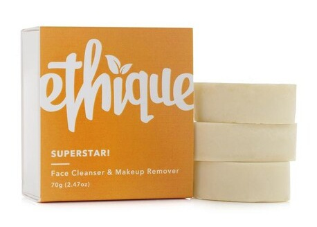 Ethique Superstar! Solid Face Cleanser And Makeup Remover