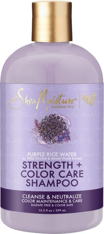 SheaMoisture Purple Rice Water Strength & Color Care Shampoo