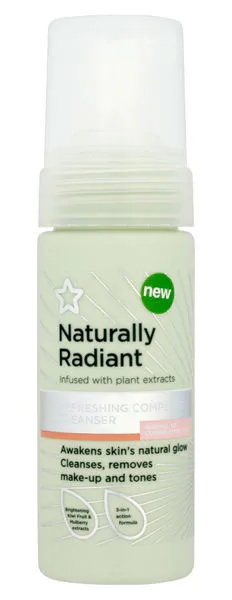 Superdrug Naturally Radiant Complete Cleanser
