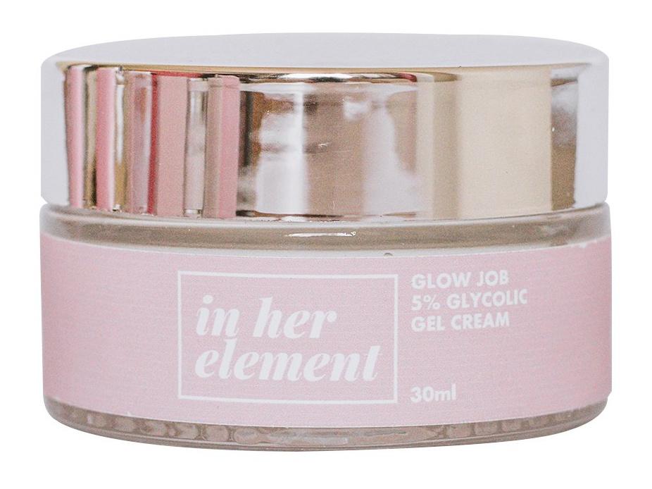 in her element Glow Job 5% Glycolic Acid Gel Cream