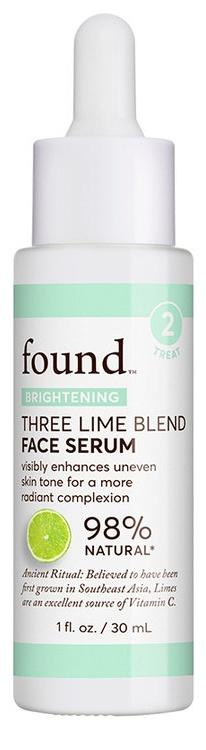 Found Three Lime Blend Face Serum
