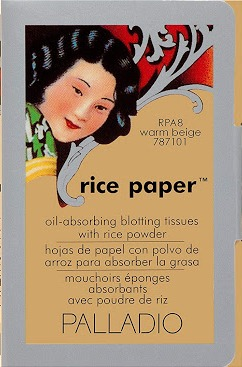 Palladio Rice Paper Oil Blotting Sheets