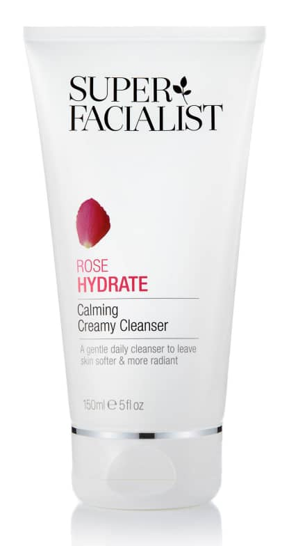 Super Facialist Reiniger Rose Hydrate Calming Creamy Cleanser