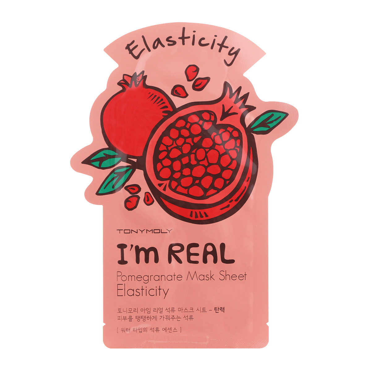 TonyMoly I'M Real Pomegranate Mask Sheet - Elasticity