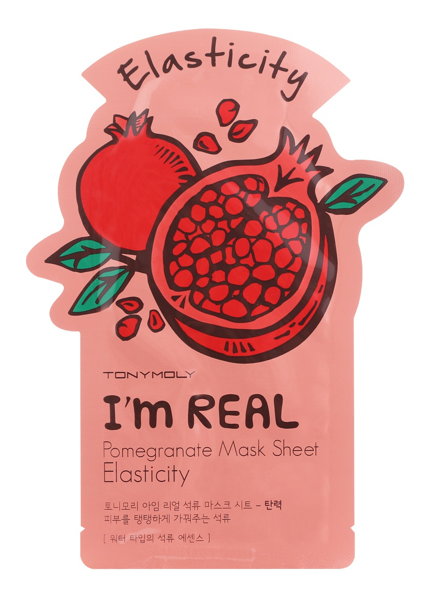 TonyMoly I'M Real Pomegranate Mask Sheet - Elasticity