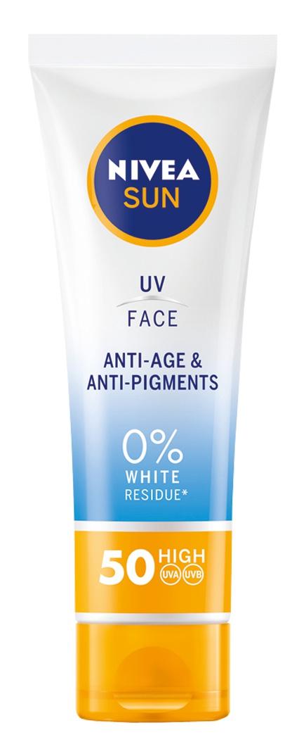 Nivea Sun Uv Face Cream Anti-Age And Pigments Spf50
