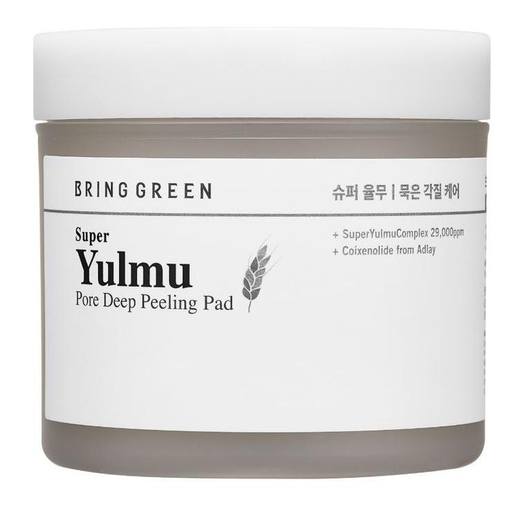 Bring Green Super Yulmu Pore Deep Peeling Pad