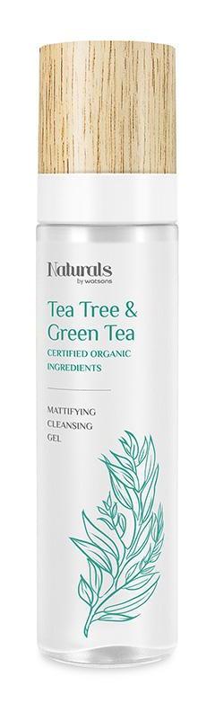 NATURALS BY WATSONS Tea Tree&Green Tea Mattifying Cleansing Gel