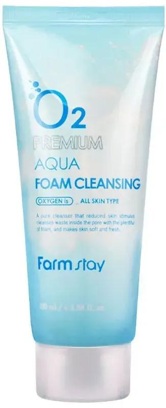 Farmstay O2 Premium Aqua Foam Cleansing